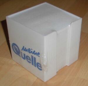 Reklame Zettelbox Alt Merkzettel Box Meine Quelle Eingeschweisst Top