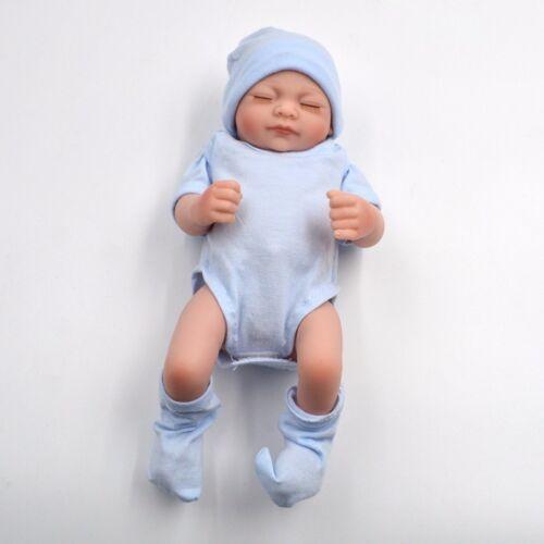 Realistic Baby Dolls Girl Full Body Vinyl Reborn Silicone Newborn Handmade 11/'/'
