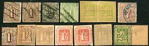Hamburg-GERMAN-STATES-Stamps-Postage-Used-Mint-LH