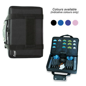 Extra-Large-Quality-Multi-Pack-Dart-Board-Dart-Carry-Case-Wallet-Choose-Colour