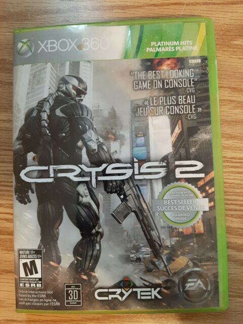 Crysis 2 | 2011 Microsoft Xbox 360 Limited Edition