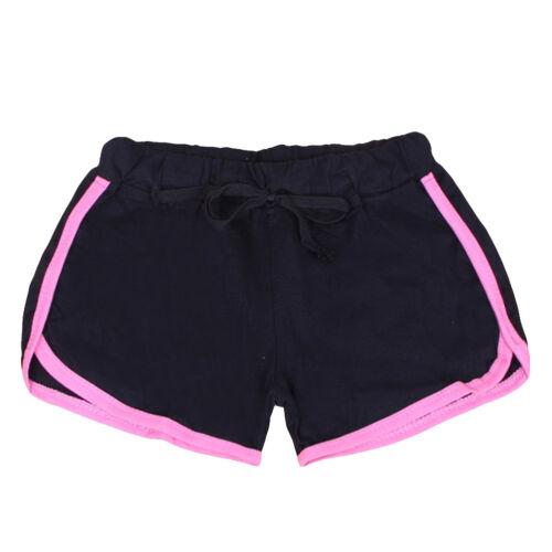 Damen Shorts Sport Hotpants Workout Sportshorts Gym Fitness Kurz Laufhose Strand
