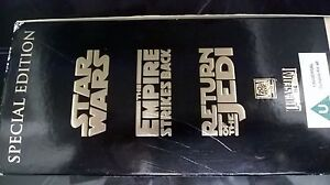 STAR WARS TRILOGY VHS VIDEO BOX SET STAR WARS EMPIRE STRIKES JEDI FREE DELIVERY - penrith, Cumbria, United Kingdom - STAR WARS TRILOGY VHS VIDEO BOX SET STAR WARS EMPIRE STRIKES JEDI FREE DELIVERY - penrith, Cumbria, United Kingdom