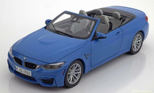 1:18 Paragon BMW M4 F82 Convertible 2015 lightblue-metallic
