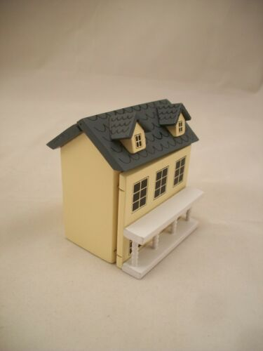 Miniature Dollhouse Dollhouse G7906  1//12 scale wooden 1//12 scale hinged front