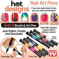 Hot Designs Nail Art Pens