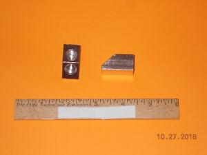 2 Way Elbow Tobacco Pipe parts /& accessories - Nickle 1 Acorn