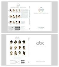 ABC CUTTING AND ABC COLOURING HAIR THE VIDAL SASSOON WAY EDUCATION 6 DVD 2 SETS.