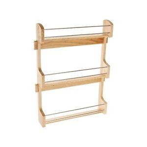 rev a shelf 4sr 21 large cabinet door mount wood 3. Black Bedroom Furniture Sets. Home Design Ideas