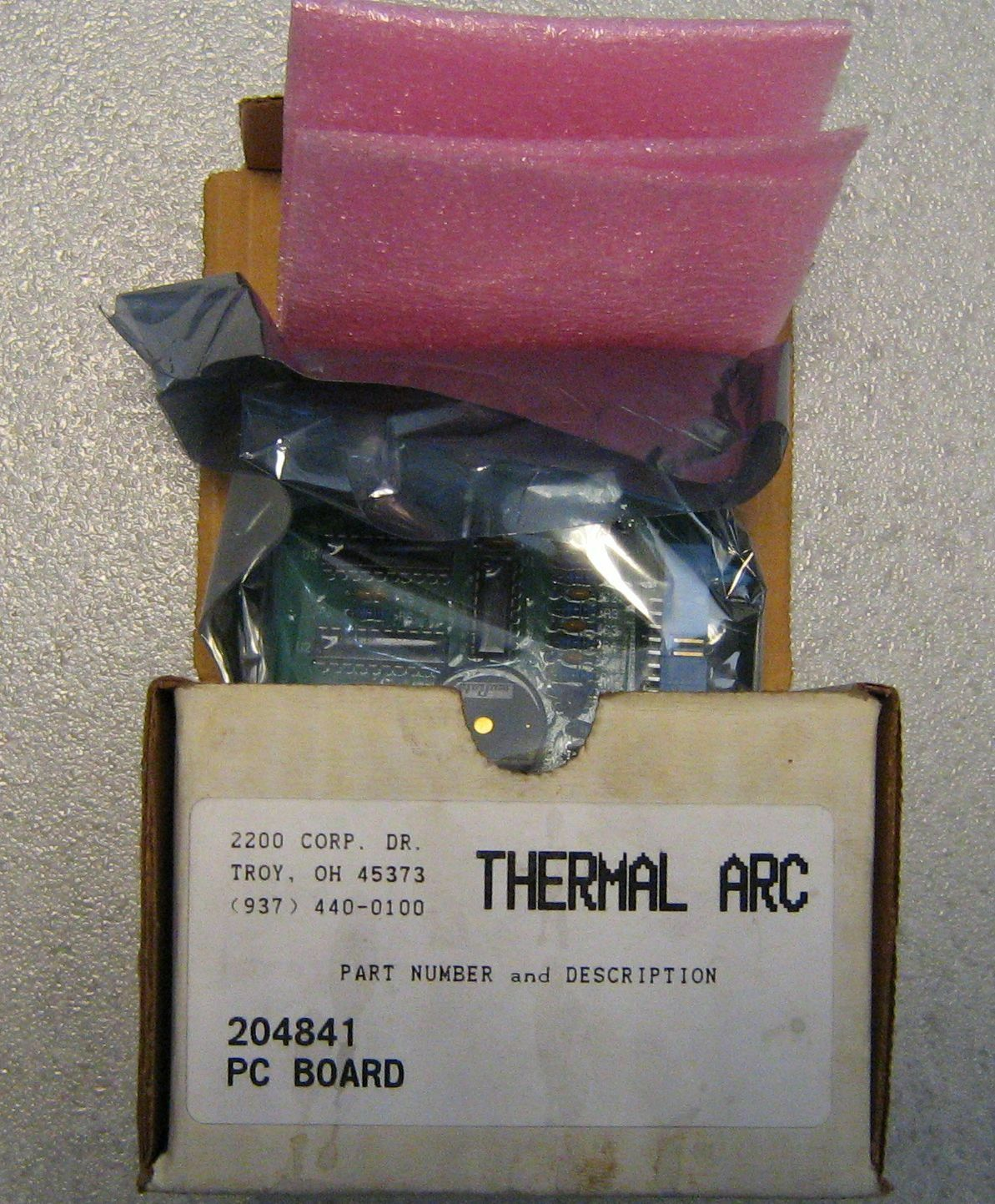 Welding Made PCB AFFICHAGE Thermique Arc 204841 Hobart Soudeur Original Made Welding in USA c84bb4