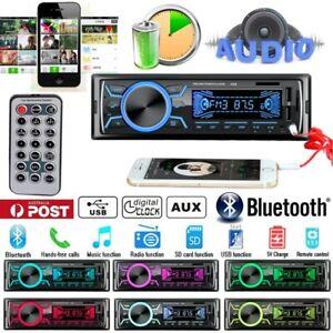 Bluetooth-Car-In-dash-Radio-Stereo-Audio-Head-Unit-MP3-USB-SD-AUX-IN-FM-Player