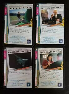 Details about X-Files CCG Card Game Promos (Mulligan, Blue Plate Special,  Not On The Menu, +)