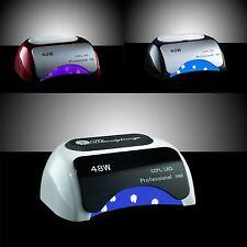 LAMPADA GEL UNGHIE PROFESSIONALE CCFL LED + UV 48W x SMALTO NAIL NO 36W FORNETTO