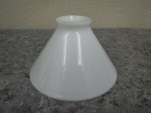 Details About Vintage Milk Glass Lamp Shade