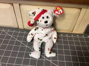 TY Beanie Baby 1998 Holiday Jingle Teddy