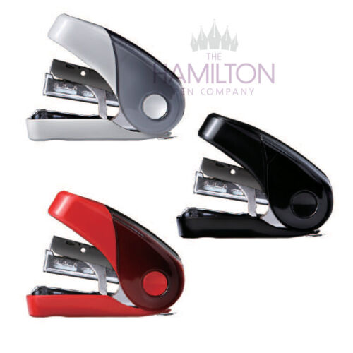 Handy light effort flat clinch stapler from Japan! MAX HD-10FL3 MINI STAPLER