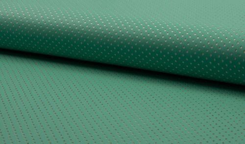 Vêtements Tissu Lasercut Cuir Synthétique points Comme neuf Vert