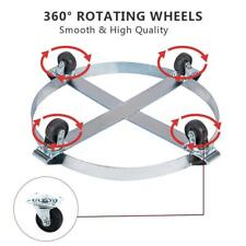 Drum Dolly 1000 Lb With Swivel Casters Heavy Premium Auto Heavy Duty 55 Gallon