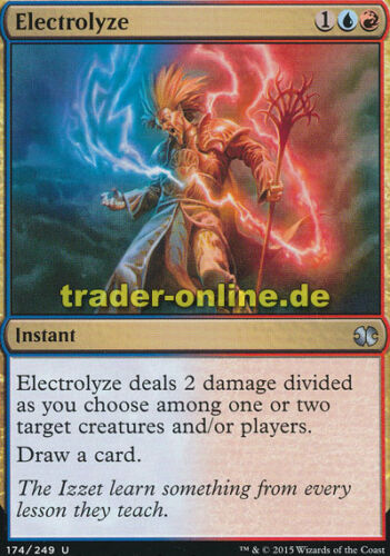 Modern Masters 2015 Magic Electrolyze electric current