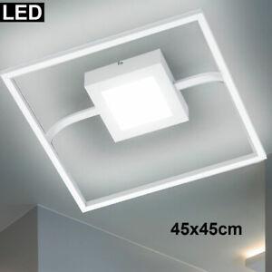LED Panel Decken Leuchte silber Arbeits Zimmer Beleuchtung Büro Flur Lampe weiß