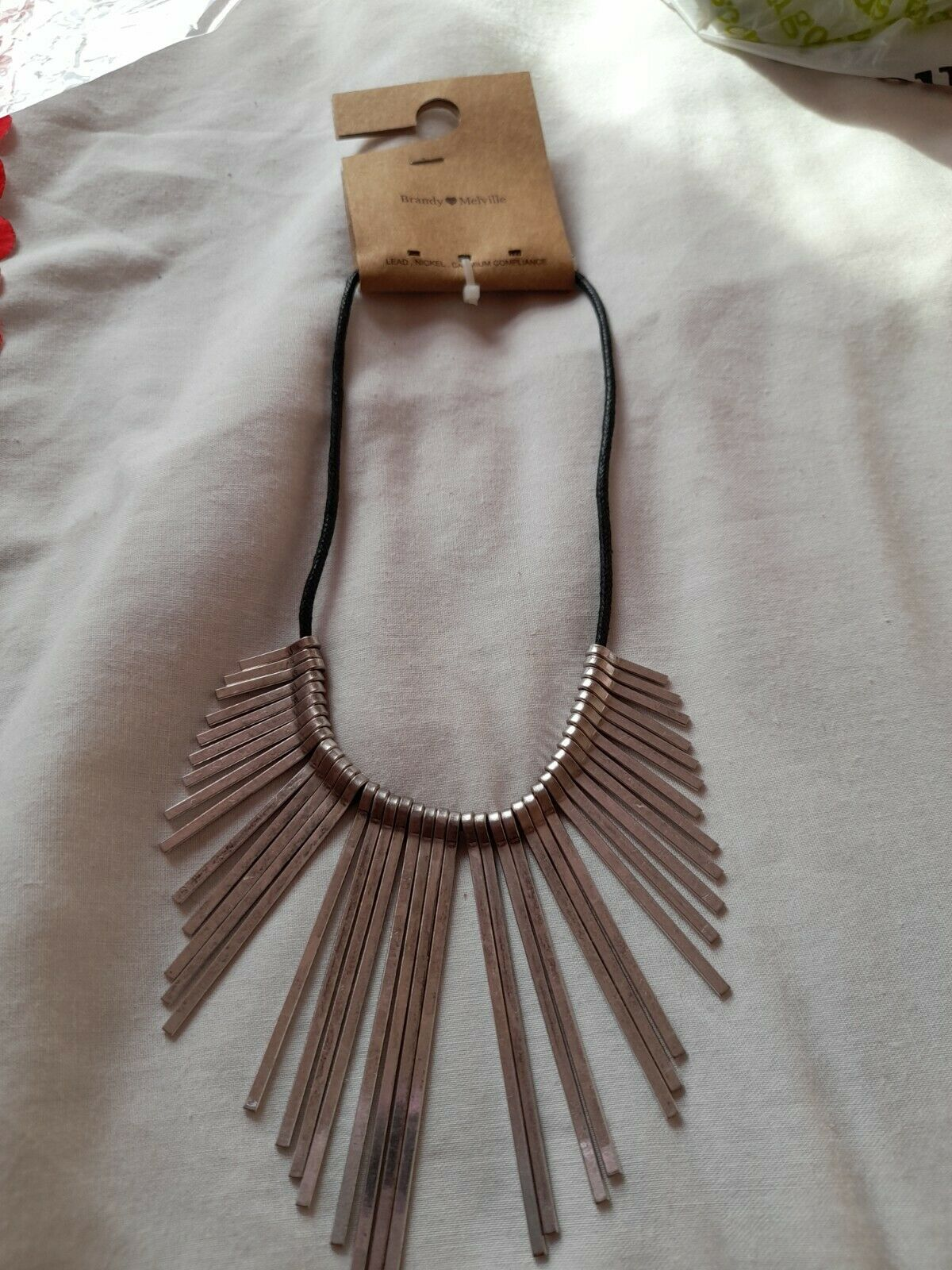 Brandy Melville costume necklace New In Packet