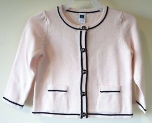 Sweaters Nwt 6-12 Mos Janie And Jack Girls Light Pink Cardigan Girls' Clothing (newborn-5t)
