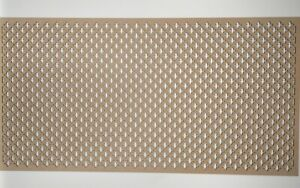 Radiator Cabinet Decorative Screening Perforated 3mm /& 6mm thick MDF laser 10mm