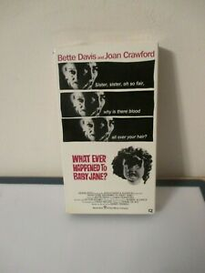 034-What-Ever-Happened-To-Baby-Jane-034-Joan-Crawford-Bette-Davis-VHS-1962-Horror