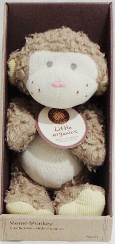 CHARLIE BEARS LITTLE ORGANICS /'MEME/' MONKEY SMALL NEW /& BOXED