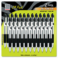 Zebra Z-grip Retractable Ballpoint Pen Black Ink Medium 24/pack 12221