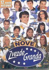 NOVE ZVEZDE GRANDA CD 2007 Dusan Radmila Milan Silvija Sanja Slobodan Jelena Hit