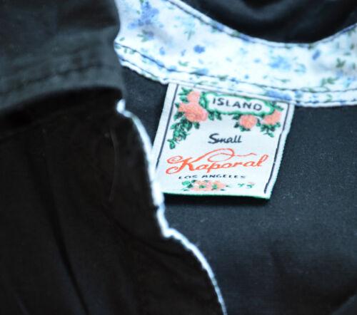 État Courtes S Excellent Manches Chemise Taille Kaporal Noir Adorable 8w7tU