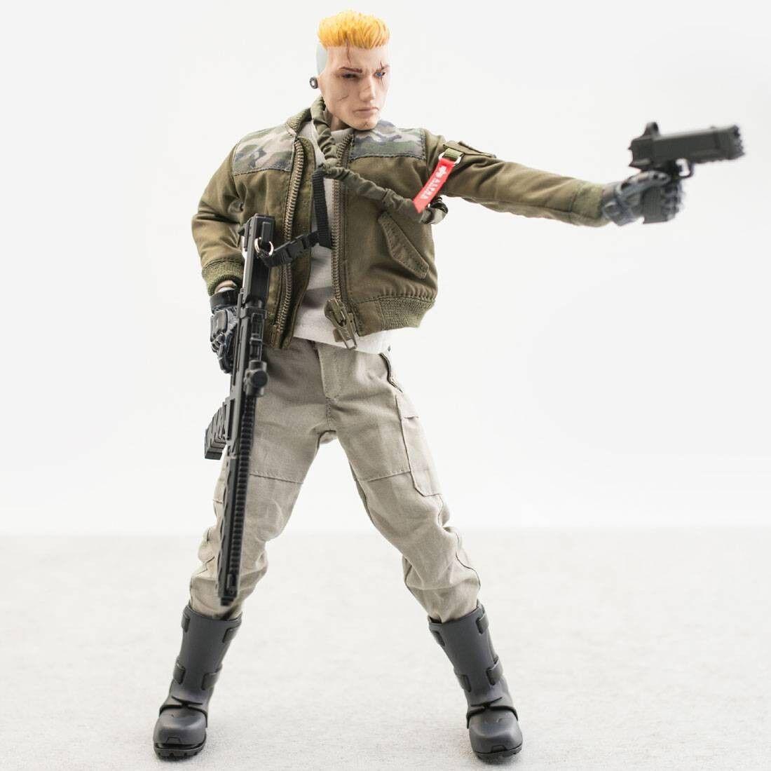 BAIT x G.I. Joe x 1000toys x Alpha Industries 1 6 Duke Figure - SDCC Exclusive (