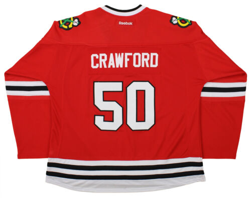 Rouge De Pour Chicago 50 Crawford Reebok Rouge Femmes Corey Nhl Blackhawks Chandail wBnvpH