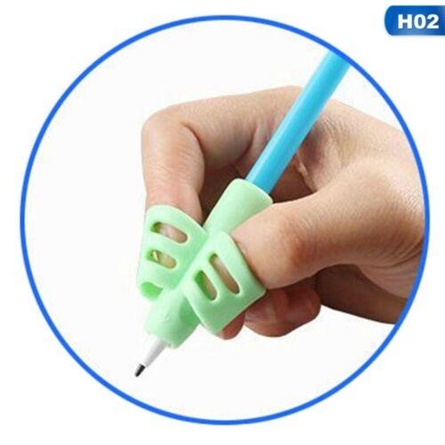 2x Kinder Bleistifthalter Stift Schreibhilfe Griff Haltungskorrektur Training