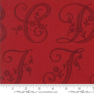 13772 13 Rose by the 1//2 yd MODA Fabric ~ MADAME ROUGE ~ by French General