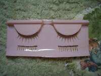 Light Brown Upper And Lower Eyelashes Reborn Doll Supplies