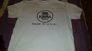 Kapa Guitar Collectors T Shirts! Available in S M L ONLY! 15.00 each!!!!