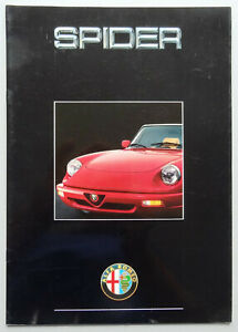 V12837-ALFA-ROMEO-SPIDER-2-0-SERIE-4-CATALOGUE-03-90-A4-FR