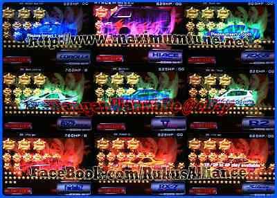 10,000+ Coins *fixed name* LvL63+ Wangan Maximum Tune 3DX+ ~ 36,000+ Stars