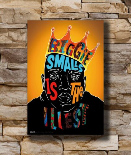 Hot The Notorious BIG Biggie Smalls New Art Poster 40 12x18 24x36 T-2738