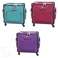 Tutto 17 Inch Serger On Wheels - Choose From 3 Colors - Sewing Carry Bag Travel