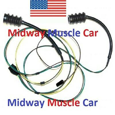 rear body taillight wiring harness Chevy pickup truck 63-66 | eBay 1965 chevy c10 fuse box diagram eBay