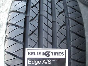 4 new 225 55r17 inch kelly edge a s tires 2255517 225 55 17 r17 55r made in usa ebay. Black Bedroom Furniture Sets. Home Design Ideas