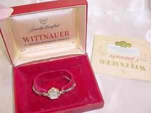 Vintage-Wittnauer-Ladies-Swiss-Watch-10K-Rolled-Gold-Plate-Bezel-Wind-Up-1877