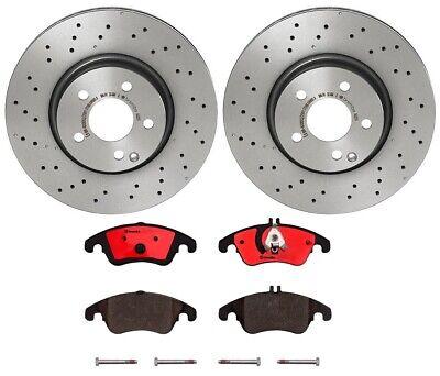 03 Fits Nissan 350Z w//Brembo Brake pkg OE Replacement Rotors w//Ceramic Pads F+R