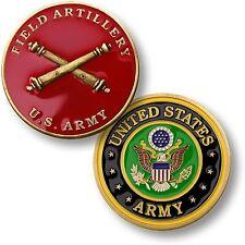 U.S. Army - Field Artillery - Bronze Challenge Coin