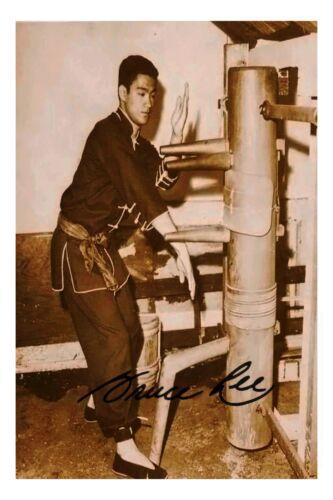 Bruce lee Canvas Print Photo Wing Chun Ip Man kung fu martial arts karate decor