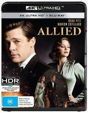 Allied 4K Blu-Ray + UHD + UV : NEW 4K Ultra HD