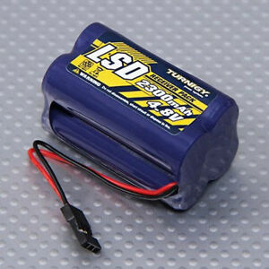 Turnigy-Low-Self-Discharge-RC-Receiver-Battery-Pack-Square-4-8V-2300mAh-NiMh